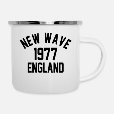 New Wave New Wave 1977 England - Emaille-Tasse