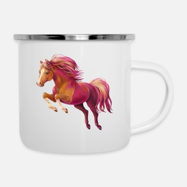 Pony Cory the Pony - Emaille-Tasse