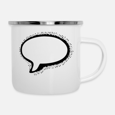 Nuvoletta Speech Bubble - Tazza smaltata