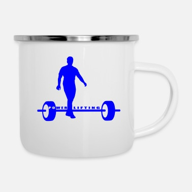 Lift Power Lifter - Tasse émaillée
