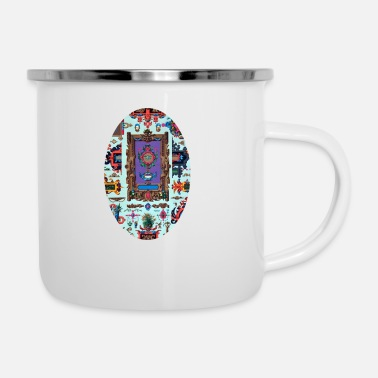 Ornament Ornament - Emaille-Tasse