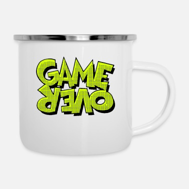 Game Over Game Over - Enamel Mug