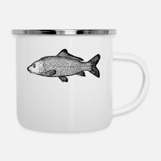 Pond Mugs & Drinkware - Madame Carpe - Enamel Mug white