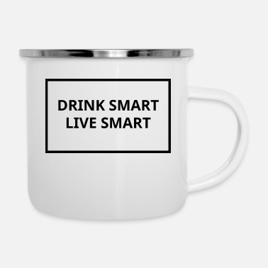 Smart Bevi Smart Live Smart - Tazza smaltata