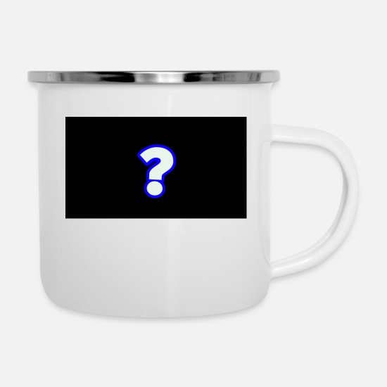 Pc Mugs & Drinkware - MYSTERY CLAN - Enamel Mug white