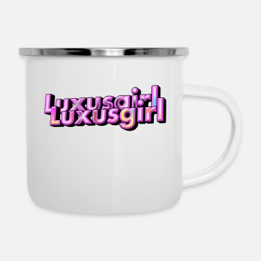 We Are The 99 Percent Luxury Girl - Enamel Mug