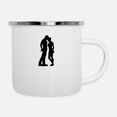 Affection affection - Enamel Mug