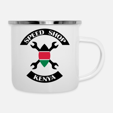 Shops Speed Shop kenya logo - Emaljmugg