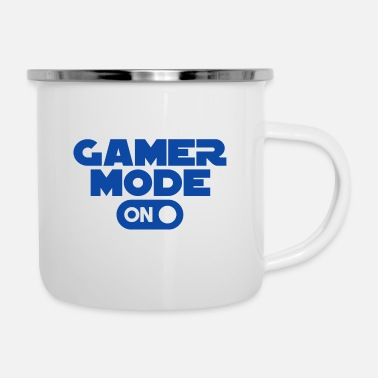 Gamer Gamer - Gamer Mode On - Enamel Mug