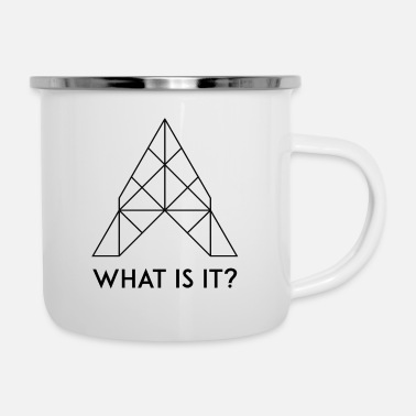 What What is it? / What is it? - Enamel Mug