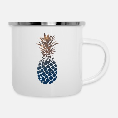 ananas - Tazza smaltata