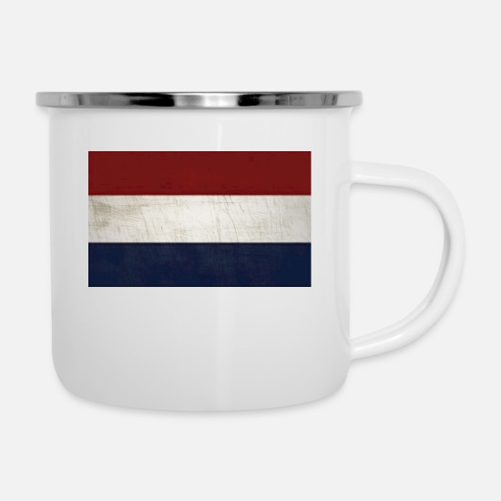 Rotterdam Mugs & Drinkware - Holland - Enamel Mug white