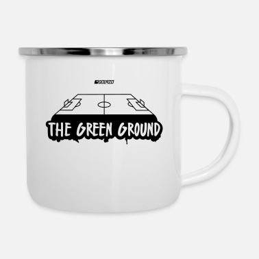 Sport The Green Ground - Emaille mok