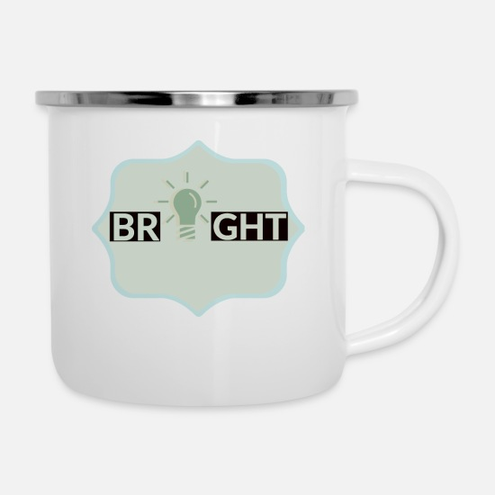 Blaze Mugs & Drinkware - bright - Enamel Mug white