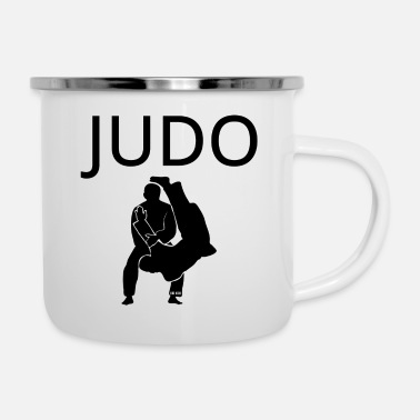 Judo judo - Tazza smaltata