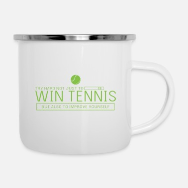 Bene Sport da tennis - Tazza smaltata
