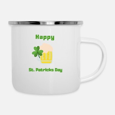Happy St. Patrick's Day - Emaljekrus