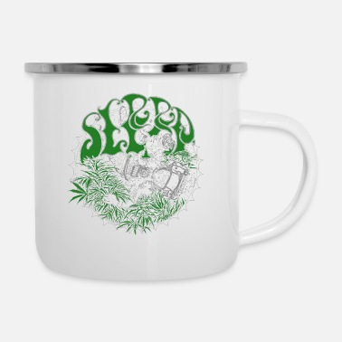 Band sleep band merch - Enamel Mug