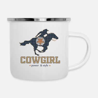 Wester WESTER RIDING GIRL - Enamel Mug