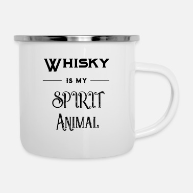 Spirit Whisky - Spirit Animal - Gaveidee - Emaljekrus