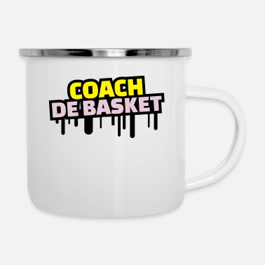 Super Coach De Basket coach de basket - Mug émaillé