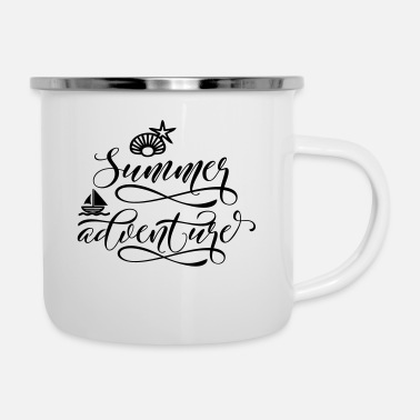 Abitur SUMMER ADVENTURE - Emaille-Tasse