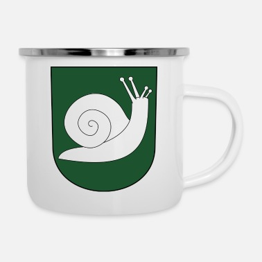 Crest screw crest - Enamel Mug