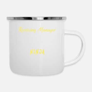Receiver Receiving Manager - Receiving Manager, - Enamel Mug