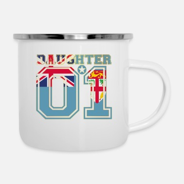 Daughter Daughter 01 daughter Queen Fiji - Enamel Mug