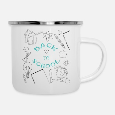 Back To School Back to school - Back to school - Enamel Mug