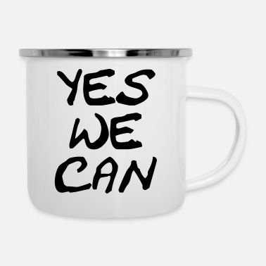We yes we can - Mug émaillé
