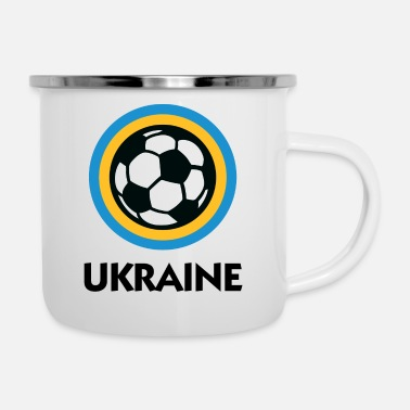 Ukraine Football Emblem - Emaljekrus