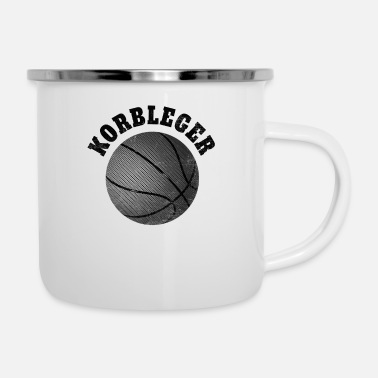 Korbleger Basketball T-Shirt Korbleger - Emaille-Tasse