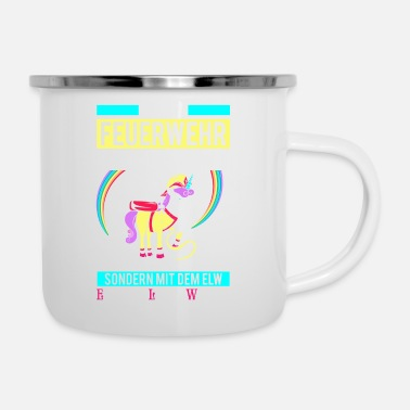 Hlf Fire princess - Unicorn - Enamel Mug