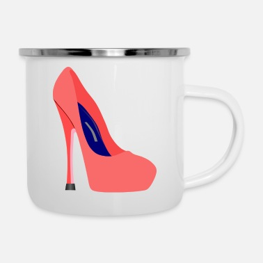 Highheels Highheels stiletto shoe - Enamel Mug