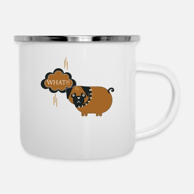 What What ?! What?! - Enamel Mug