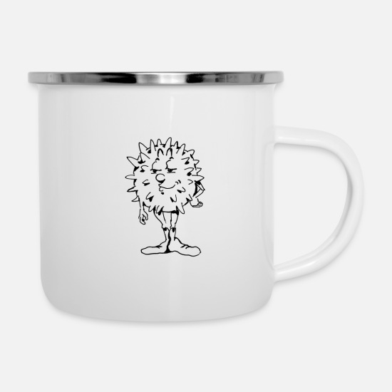 Science Mugs & Drinkware - White blood cell - Enamel Mug white