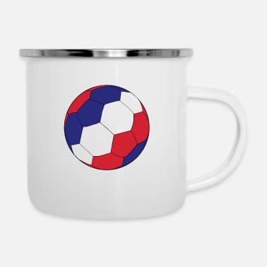 Coupe du Monde de Football de France - Mug émaillé