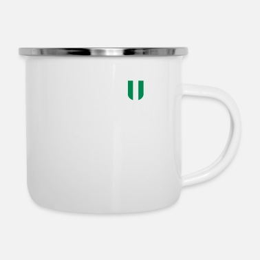 Jersey Number Nigeria fan jersey football 2018 number 10 - Enamel Mug