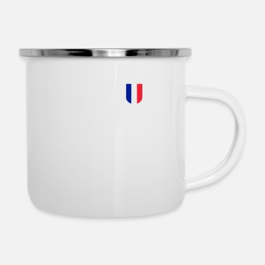 Jersey Number France football jersey number 10 - Enamel Mug