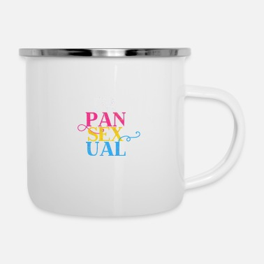 Funny Pansexual Definition - LGBT Equality - Enamel Mug