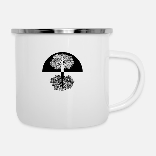 Gift Idea Mugs & Drinkware - Feel nature - Feel the Nature - Enamel Mug white