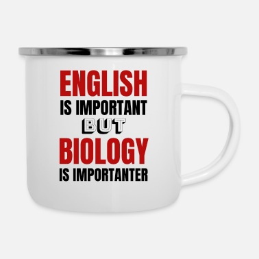 Biology Biology teacher Biology teacher Gift idea - Enamel Mug