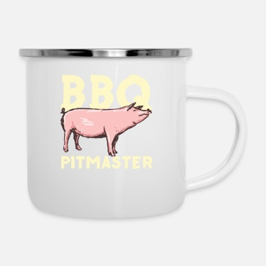 Bbq Master Grill Master BBQ Pitmaster - Emaille mok