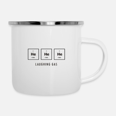 Laughing Laughing Gas - Emaille-Tasse