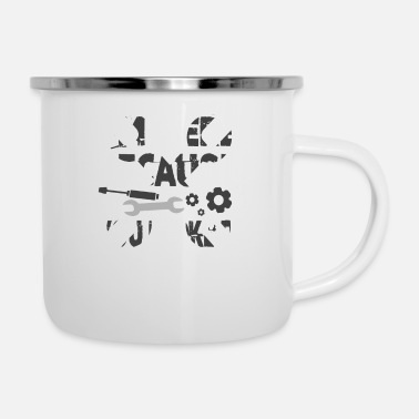 Im Here Because You Broke It I'm Here Because You Broke It Mechanic - Enamel Mug