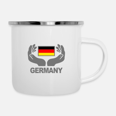 Germany Germany - Emaille-Tasse