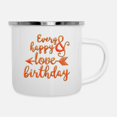 Birthday Every Birthday - Camper Mug