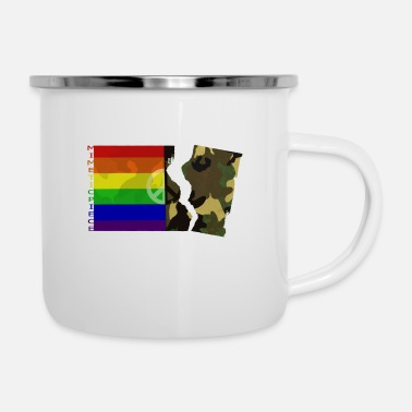 Piece Mimetic piece - Enamel Mug