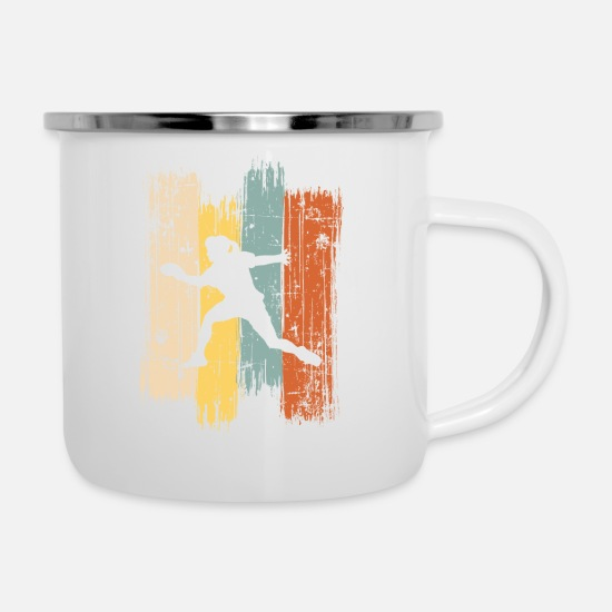 Sentence Mugs & Drinkware - Table Tennis Player Gift Association Tournament - Enamel Mug white